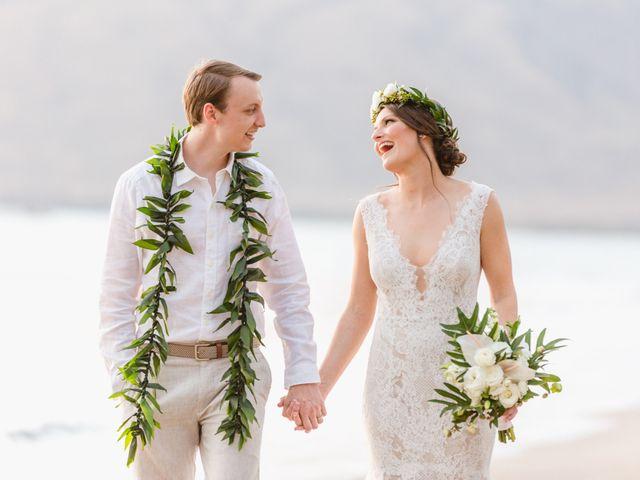 Donald and Kirby's Wedding in Kihei, Hawaii 101