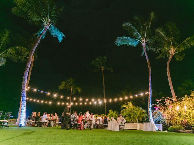 Donald and Kirby's Wedding in Kihei, Hawaii 110