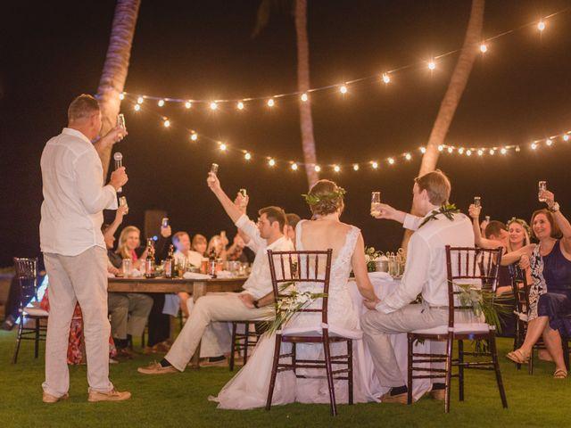 Donald and Kirby's Wedding in Kihei, Hawaii 112
