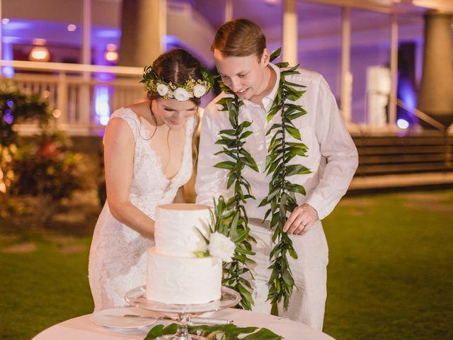 Donald and Kirby's Wedding in Kihei, Hawaii 114