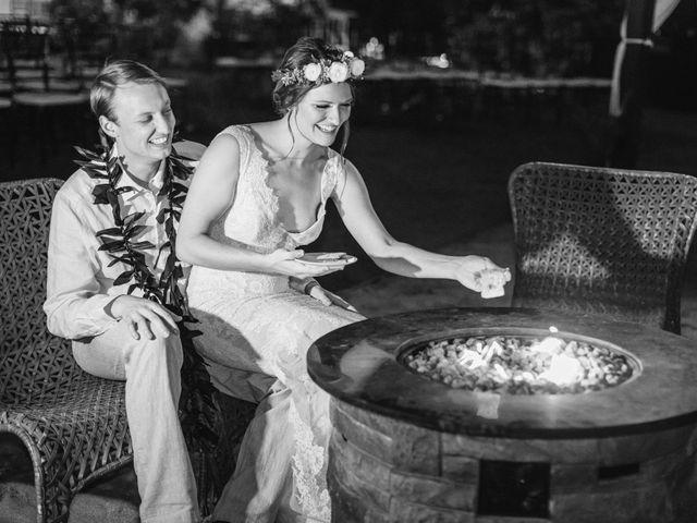 Donald and Kirby's Wedding in Kihei, Hawaii 115