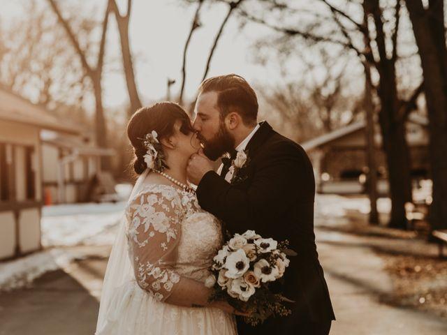 The wedding of Mariah and Ben