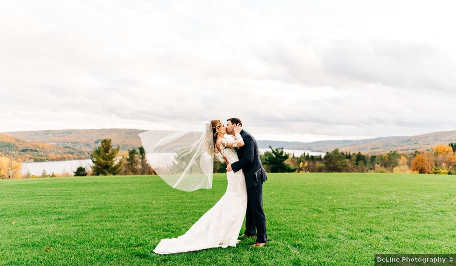 Mallory and Rob's Wedding in Canandaigua, New York