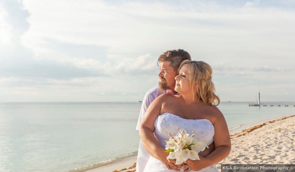 Patrick and Audree's Wedding in San Miguel de Cozumel, Mexico