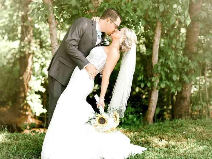 The wedding of Elizabeth and Drew