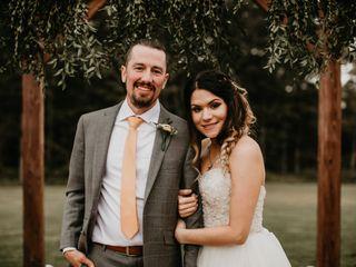 The wedding of Vicki and Logan