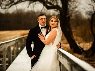 The wedding of Hannah and James