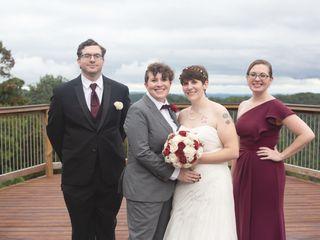 The wedding of Jess and Kala 1