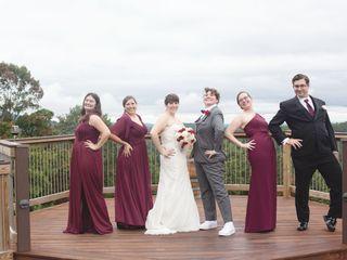 The wedding of Jess and Kala 2