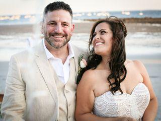 The wedding of Chris and Sandy