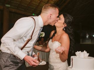 The wedding of Erica and Adam