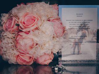 The wedding of Rachel and Derrick 1