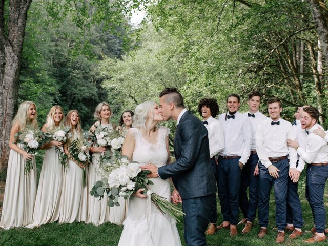 Xav and Lisa's Wedding in North Plains, Oregon 2