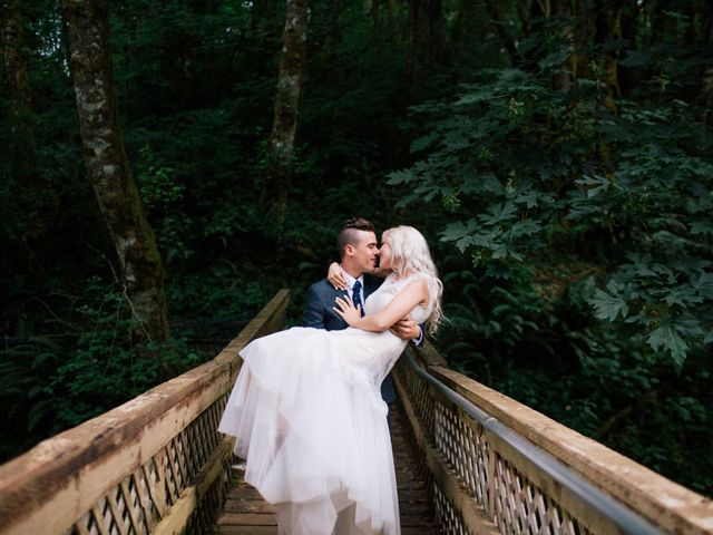 The wedding of Lisa and Xav