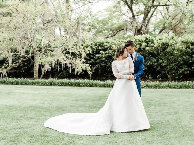 The wedding of Marie and Christian