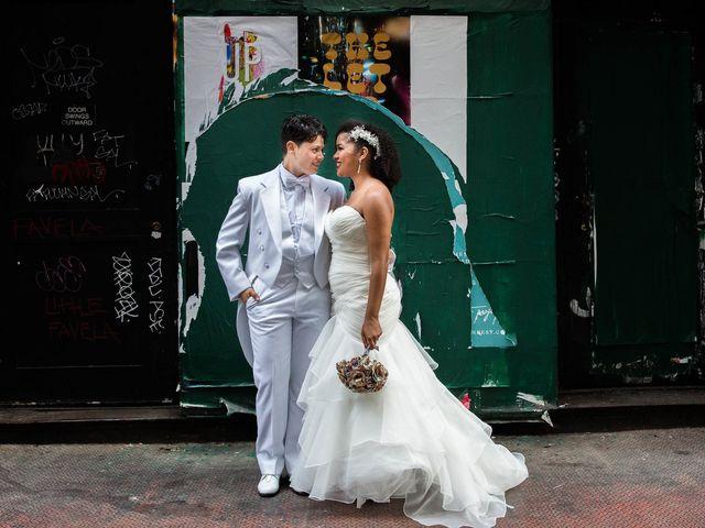 The wedding of Erika and Jenn