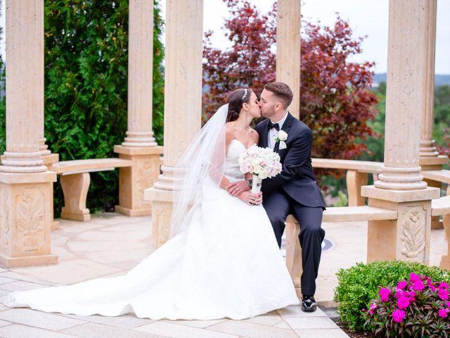 The wedding of Justina and David