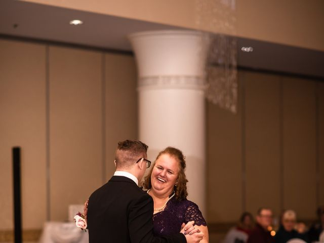 James and Hannah's Wedding in Michigan City, Indiana 49