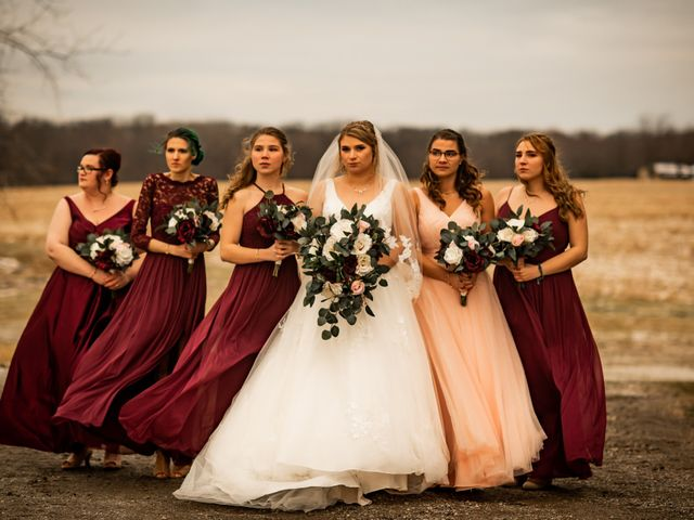 James and Hannah's Wedding in Michigan City, Indiana 113
