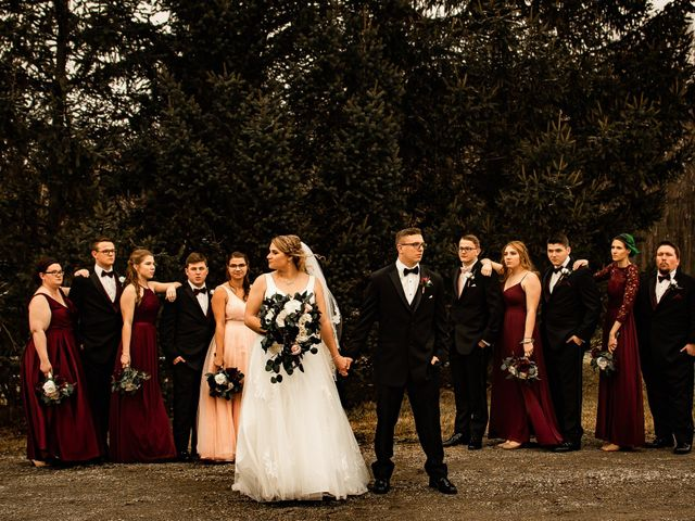 James and Hannah's Wedding in Michigan City, Indiana 119