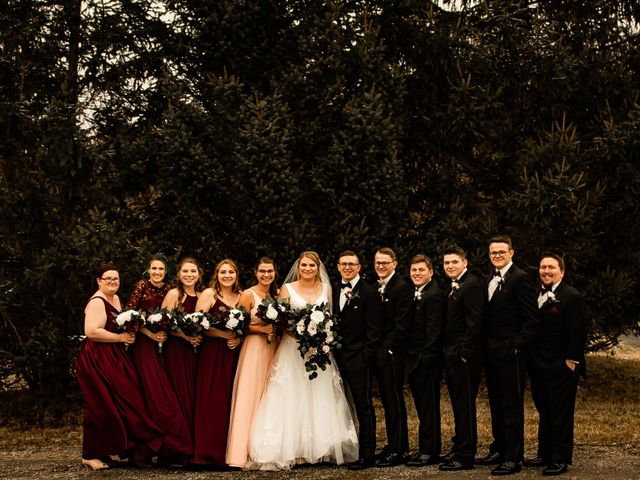 James and Hannah's Wedding in Michigan City, Indiana 121
