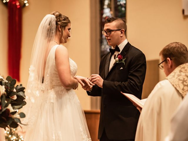 James and Hannah's Wedding in Michigan City, Indiana 129