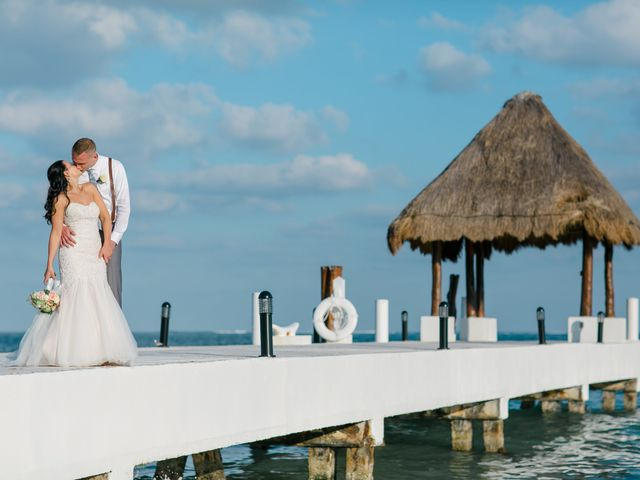 Adam and Erica's Wedding in Playa del Carmen, Mexico 13