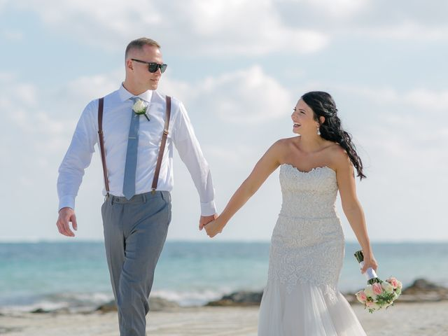 Adam and Erica's Wedding in Playa del Carmen, Mexico 18
