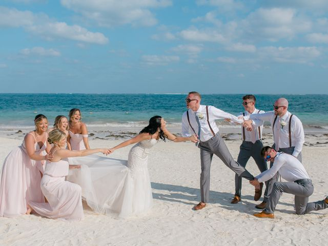Adam and Erica's Wedding in Playa del Carmen, Mexico 19