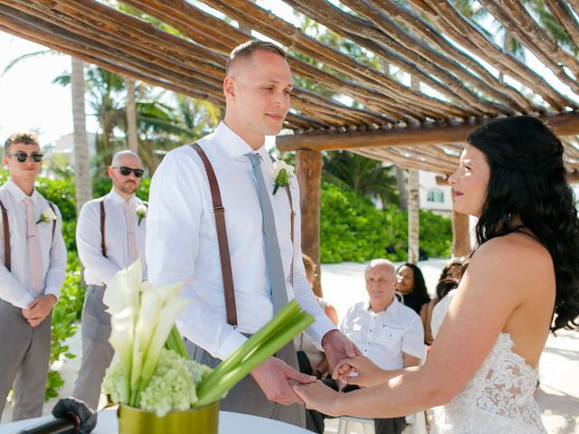 Adam and Erica's Wedding in Playa del Carmen, Mexico 21