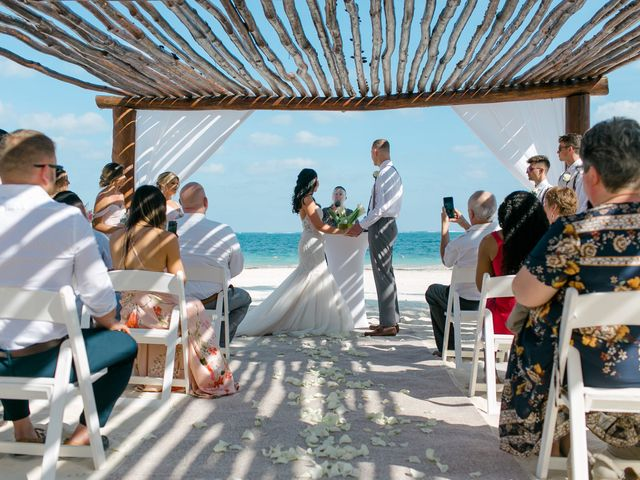 Adam and Erica's Wedding in Playa del Carmen, Mexico 22