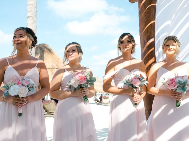 Adam and Erica's Wedding in Playa del Carmen, Mexico 23