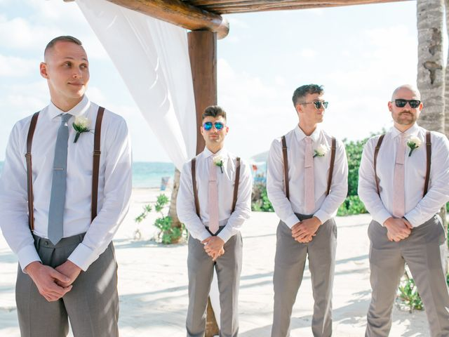 Adam and Erica's Wedding in Playa del Carmen, Mexico 24