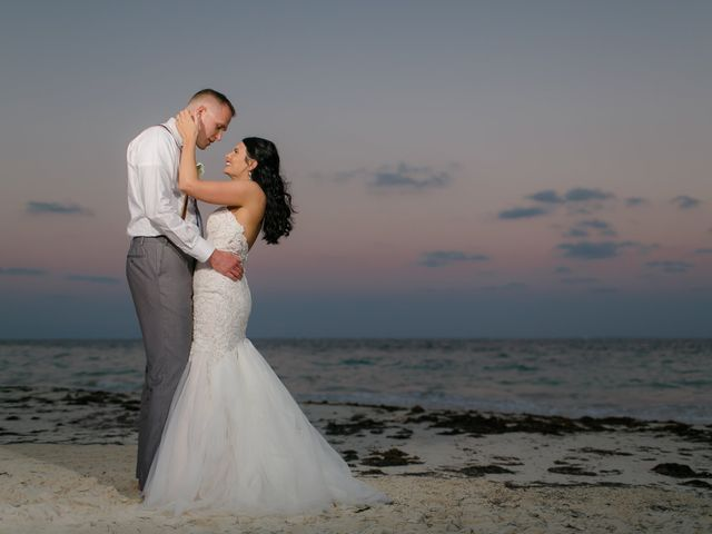 Adam and Erica's Wedding in Playa del Carmen, Mexico 1