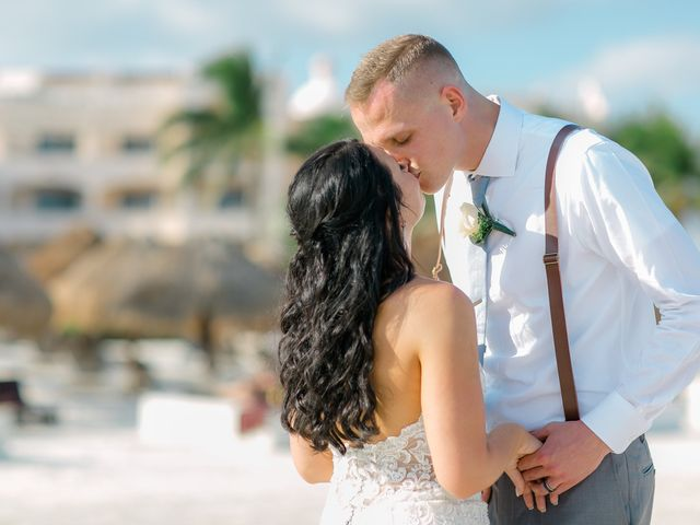 Adam and Erica's Wedding in Playa del Carmen, Mexico 34