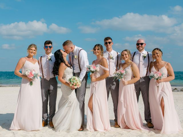 Adam and Erica's Wedding in Playa del Carmen, Mexico 37
