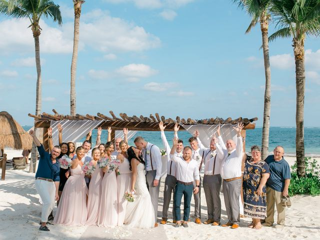 Adam and Erica's Wedding in Playa del Carmen, Mexico 38