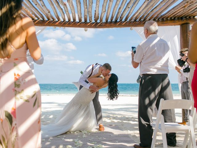Adam and Erica's Wedding in Playa del Carmen, Mexico 40