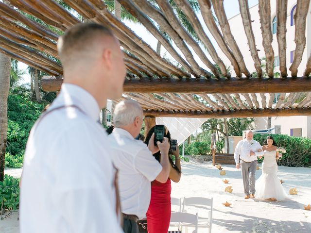 Adam and Erica's Wedding in Playa del Carmen, Mexico 43