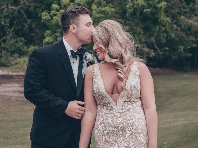 The wedding of Rachel and Derrick