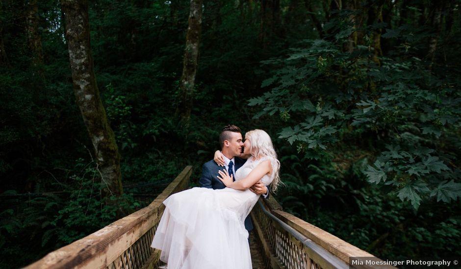 Xav and Lisa's Wedding in North Plains, Oregon