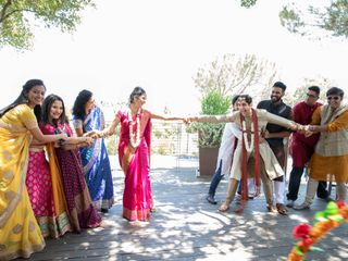 The wedding of Stuthi and Ranajeet 2