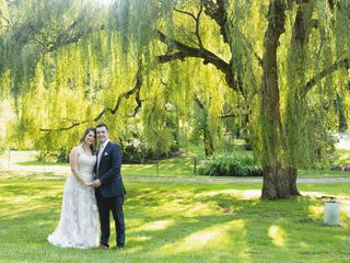 The wedding of Amanda and Michael