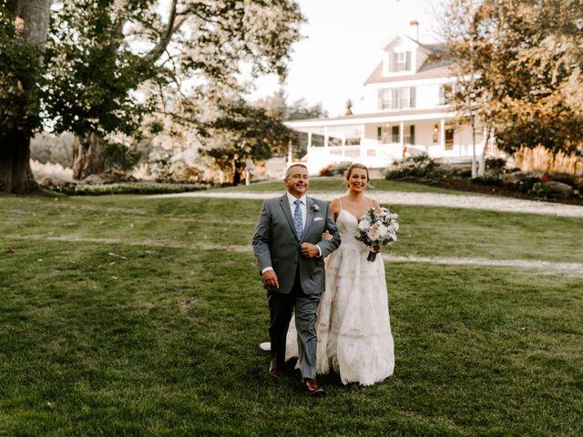 Jared and Stephanie's Wedding in Princeton, Massachusetts 8