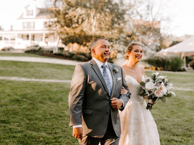 Jared and Stephanie's Wedding in Princeton, Massachusetts 9