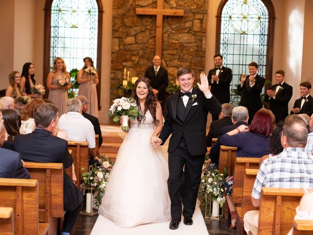 Tanner and Lindsey's Wedding in Fayetteville, Arkansas 46