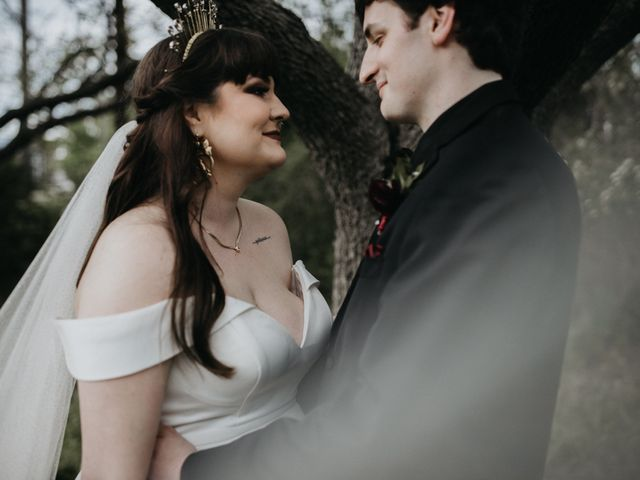The wedding of Shelby and Nicholas