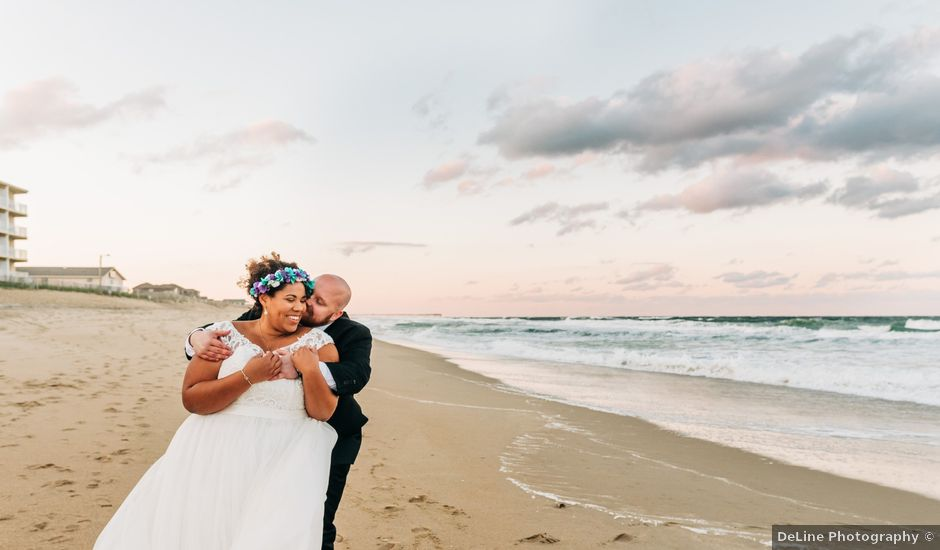 Chelsea and Colby's Wedding in Kitty Hawk, North Carolina