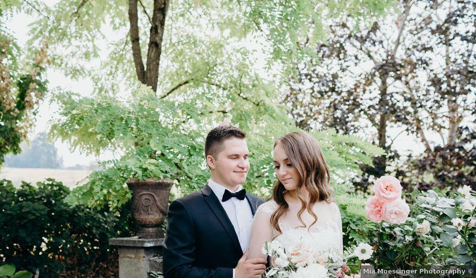 Ben and Victoria's Wedding in Oregon City, Oregon