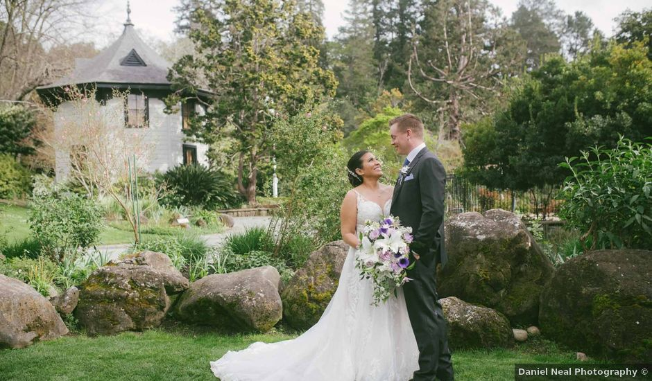 Grant and Stephanie's Wedding in Ross, California
